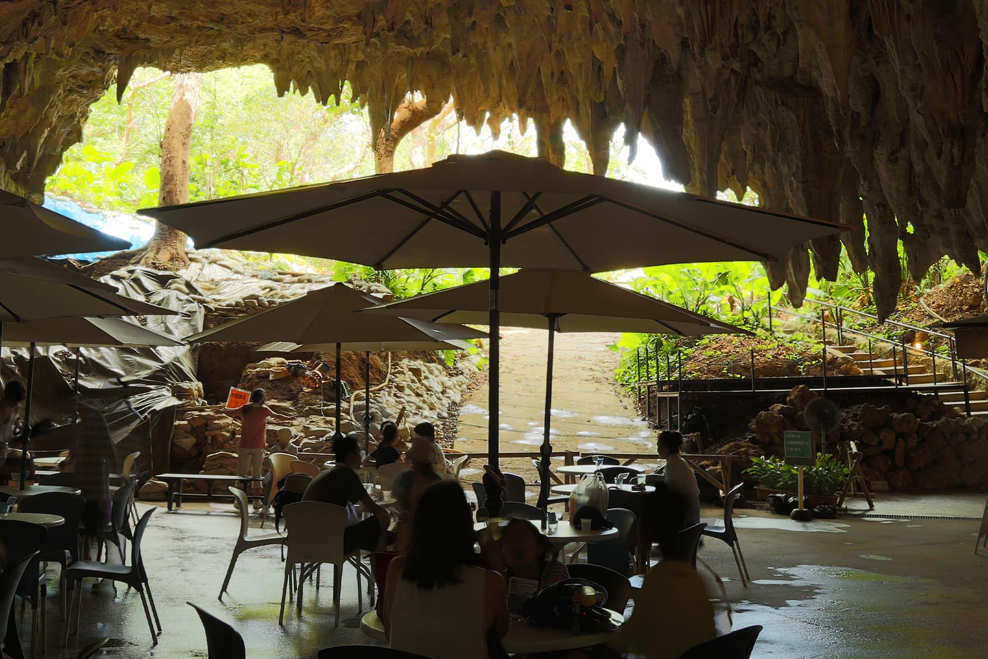 ガンガラーの谷 CAVE CAFE ケイブカフェ